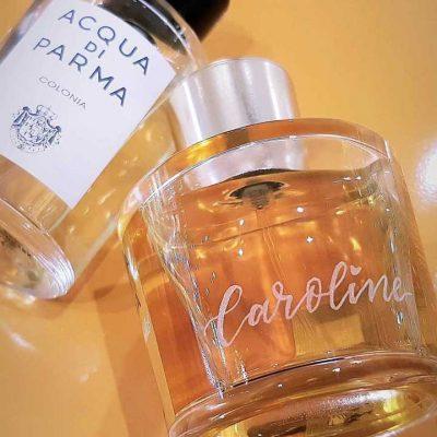 Acqua Di Parma -  Calligraphy engraving
