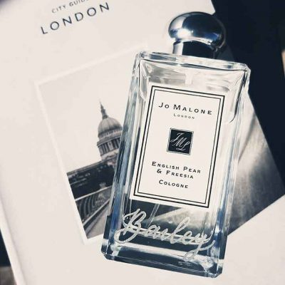 Jo Malone London - Vogue Fashions Night Out - Engraving
