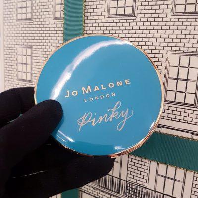 Engraving on Jo Malone London Ceramic Candle Lids