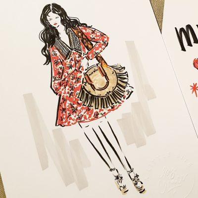Fashion Illustration - The iNGk Studio