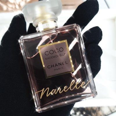 Engraving on Chanel Perfume Bottles