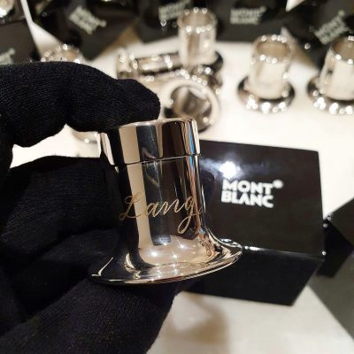Engraving on Stainless Steel Jewellers Loupes for Montblanc