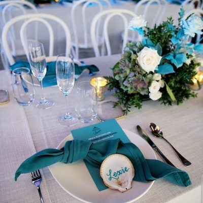 Creative Projects - Calligraphy on Scallop Shell Place Cards