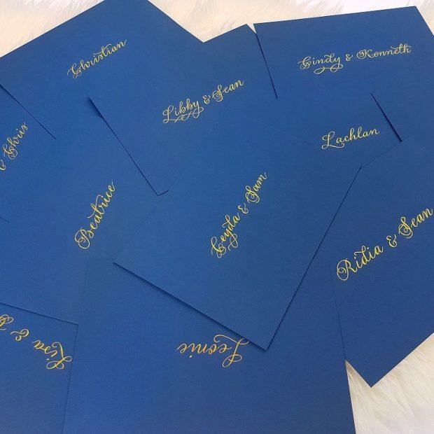 Bespoke Stationery - Envelopes