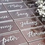 W1.5 - Clear Acrylic Block Place Cards